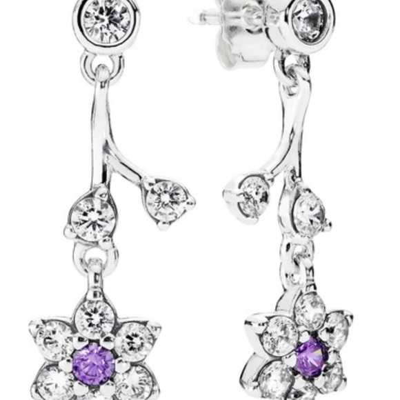9f4e28244 Pandora Jewelry   Nwt Forget Me Not Drop Earrings   Poshmark
